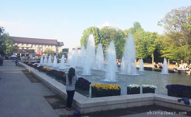 上野公園の噴水