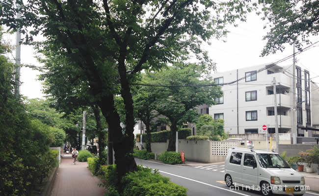 大泉学園の街並み