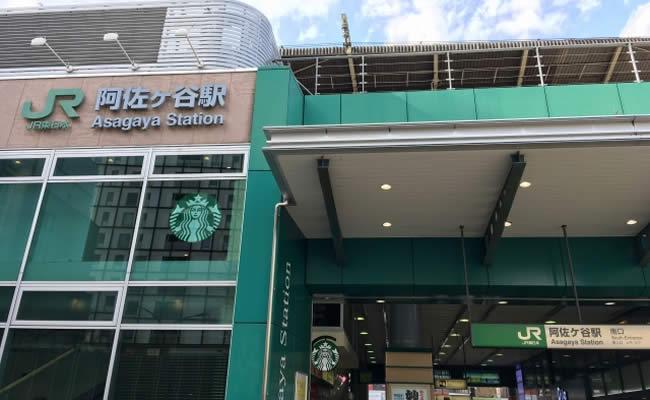 阿佐ヶ谷駅の南口