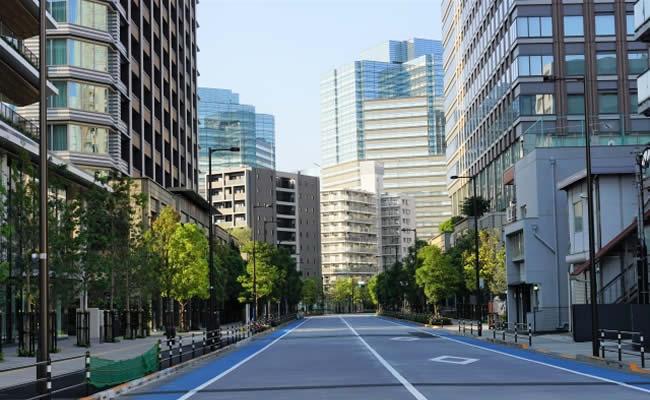 大崎のオフィス街