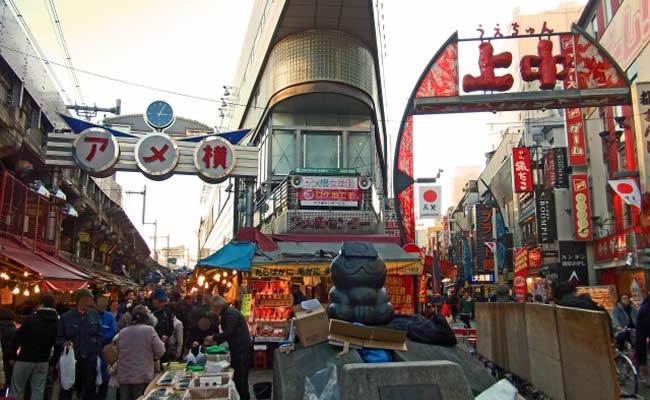 上野のアメ横