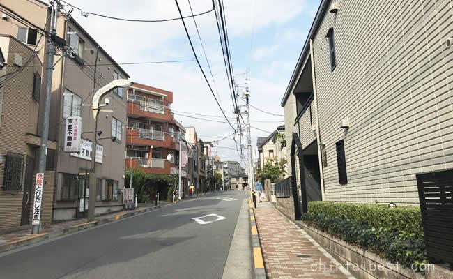 江古田の住宅街