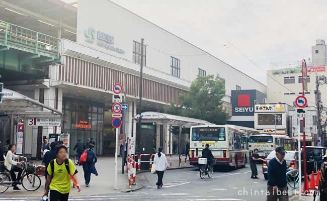 西荻窪駅の北口