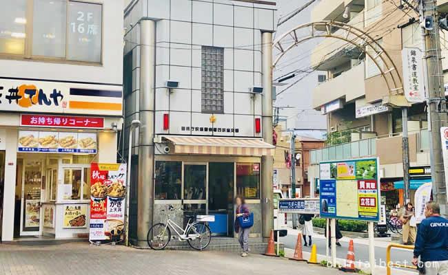 西荻窪駅前の交番