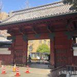 赤門は本郷のシンボルです。