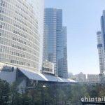 高層のオフィスビルが建ち並 ぶ姿は近未来のようです。