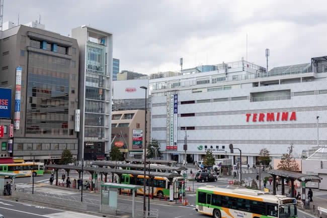 錦糸町の駅前