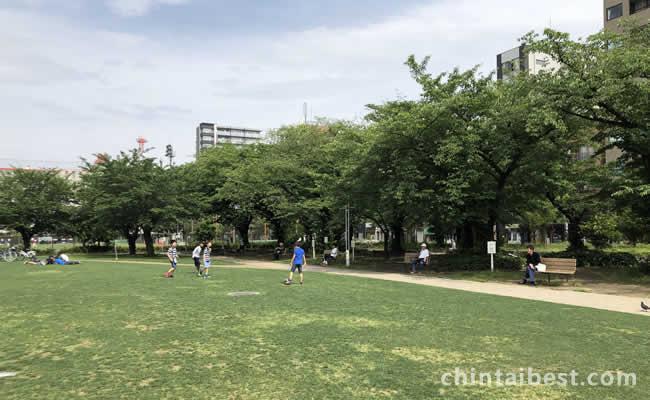 錦糸町公園の広場