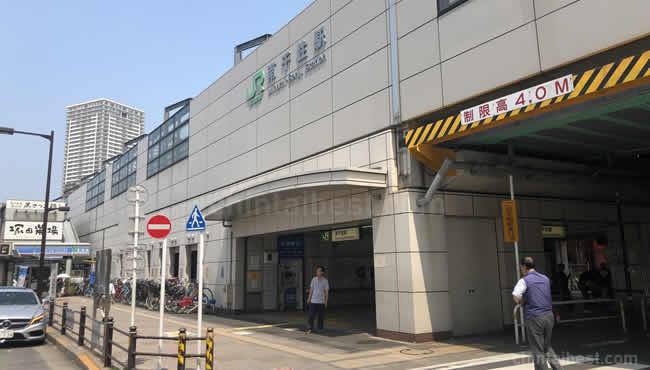 南千住駅の西口