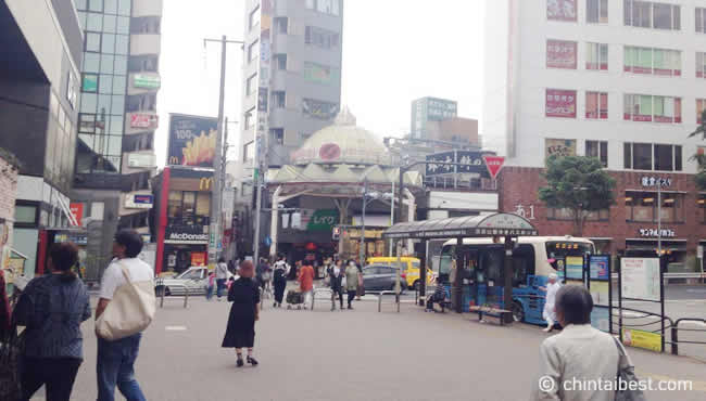 商店街の入り口