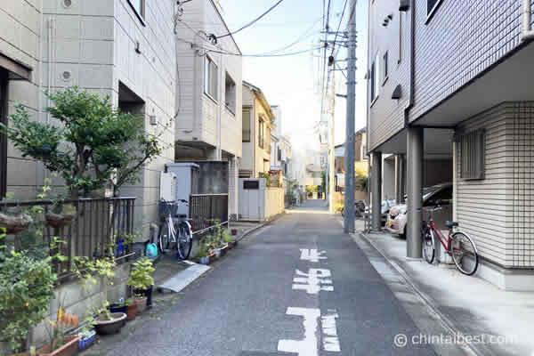 本駒込の住宅街