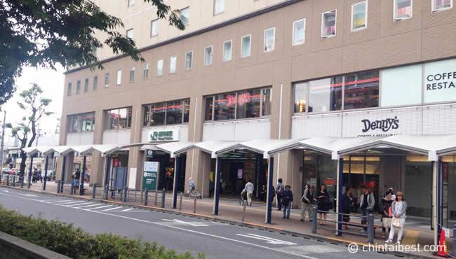 高円寺駅前のバス停