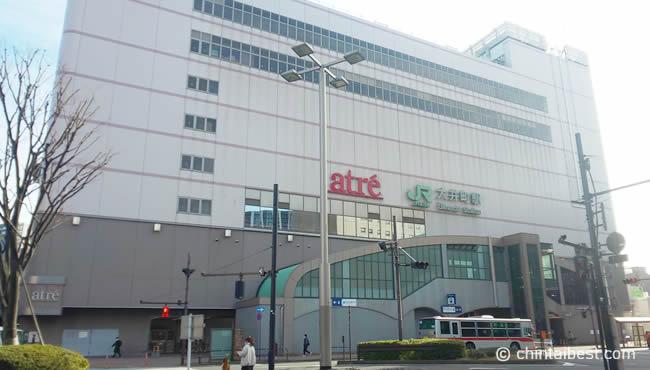 大井町のアトレ