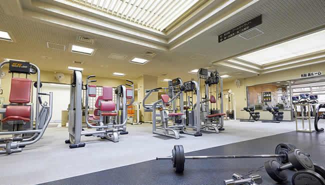 板橋区立上板橋体育館のトレーニングルーム