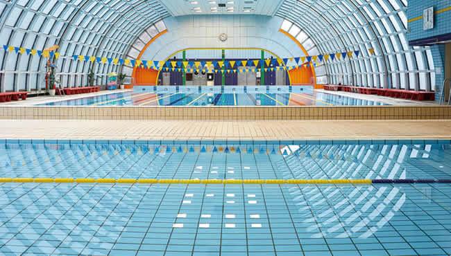 板橋区立上板橋体育館の温水プール