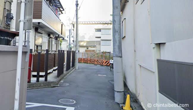 上板橋の住宅街