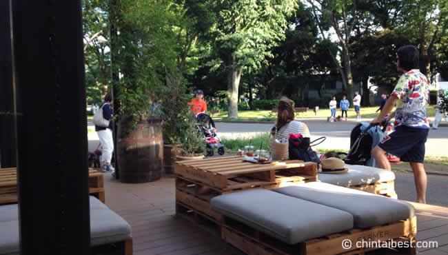 駒沢オリンピック公園にあるカフェ