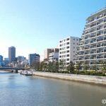 駅からすぐのところに小名木川があります。
