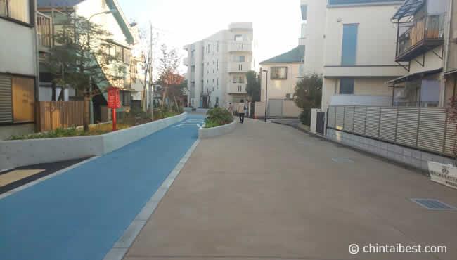 立会川緑道