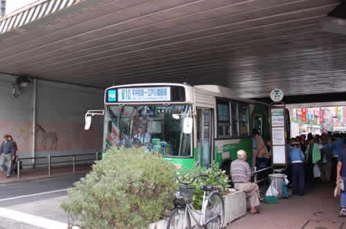 線路下がバス乗り場